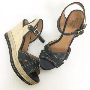 Clarks Indigo Amelia Air Wedge Sandal ▪️